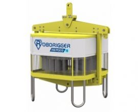 roborigger, automated lifting device, wireless load orientation, crane lifting, remote load management